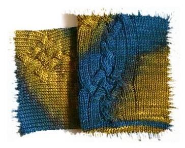 Wollmeise Vincent Ausschnitt