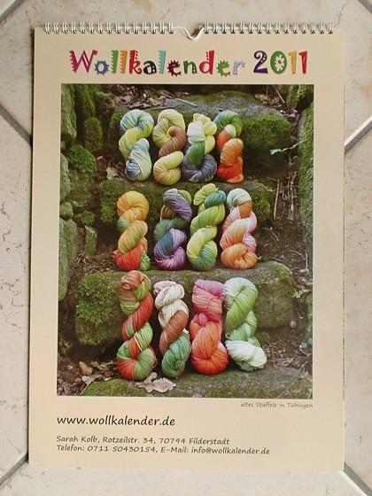 Wollkalender 2011