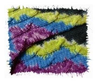Drachenwolle Sommermond Ausschnitt