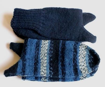 Socken aus Discounterwolle
