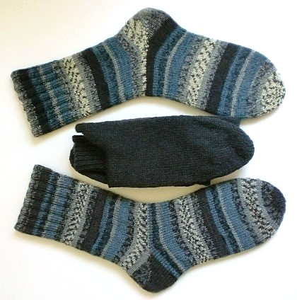 Socken Discounterwolle