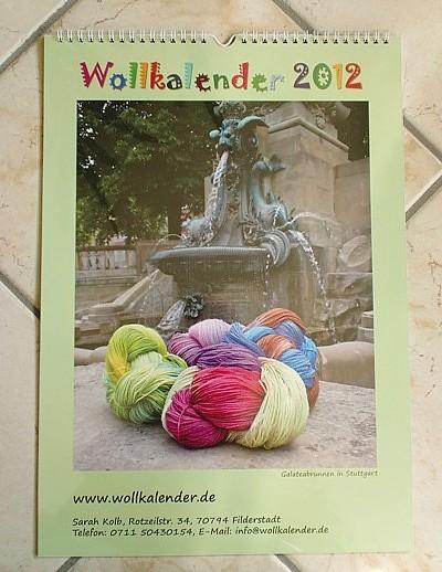 Wollkalender 2012