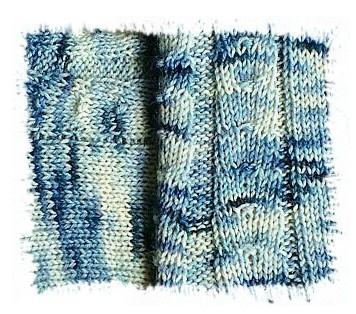 Tausendschön Blautöne Ausschnitt I