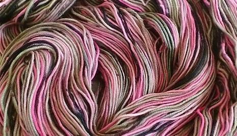 Jitterbug Pink Tweed offen