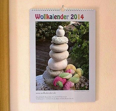 Wollkalender 2014