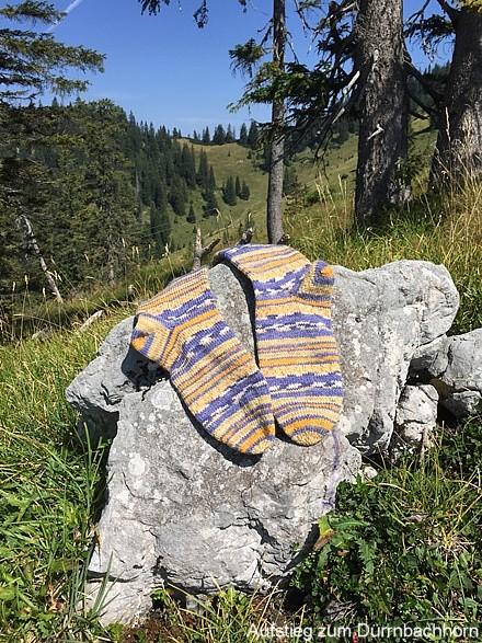 Aufstieg zum Dürrnbachhorn